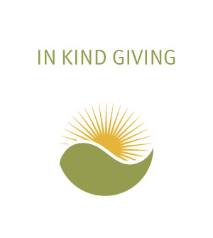 In-Kind Giving