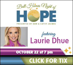 Ball Homes Night of Hope featuring Laurie Dhue, October 22, 2015